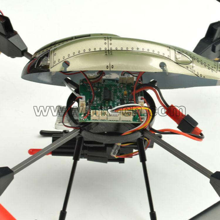 4ch 2.4g mariquita ovni rc/juguete ovni/quadcopter