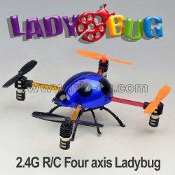 Mini 2.4g käfer flyer, vier-kanal quadcopter