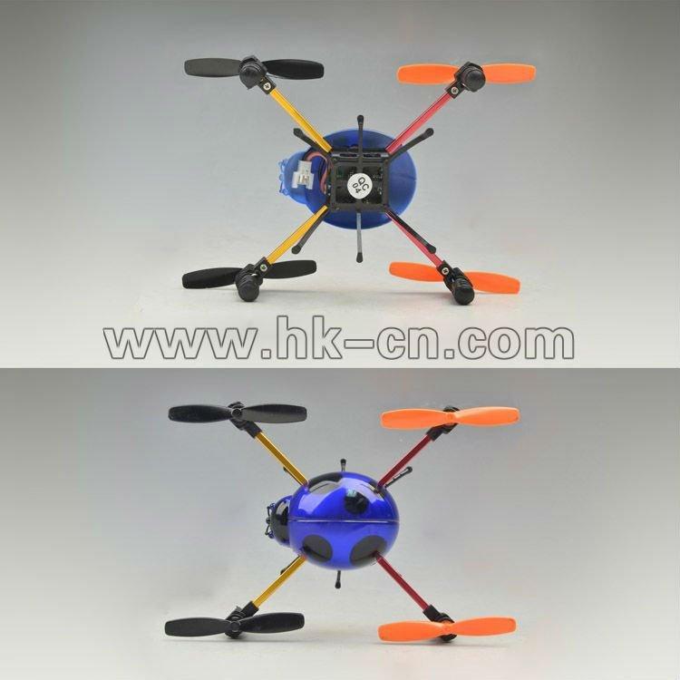 Mini 2.4g escarabajo flyer, de cuatro canales quadcopter