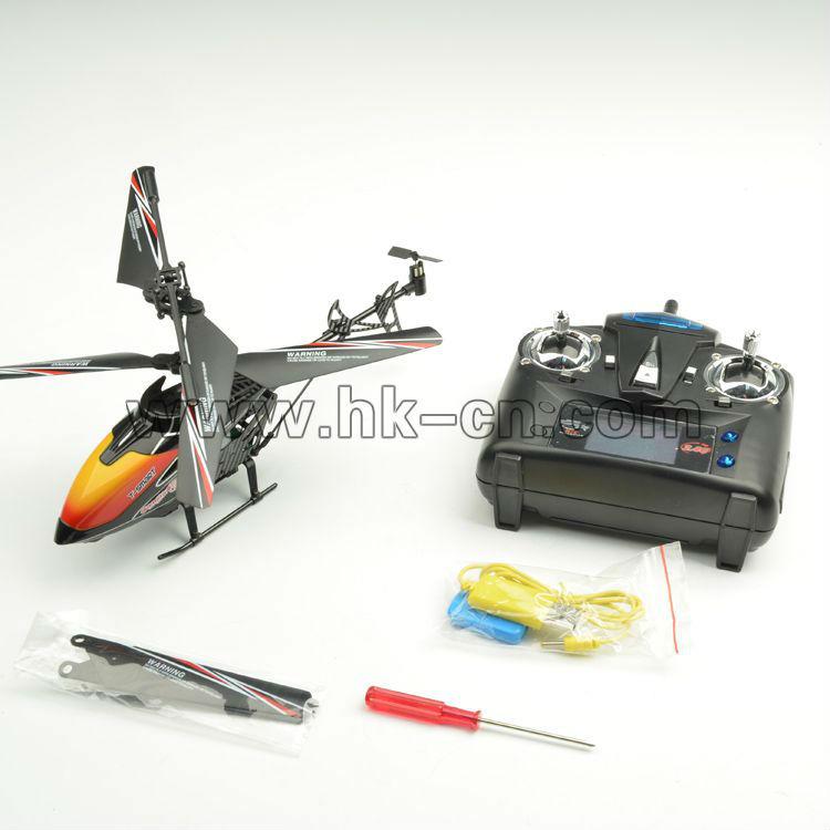 La cámara 2.4g helicóptero del rc