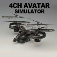 quatre canaux scorpion avatar hélicoptère rc