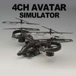 Vier-kanal rc hubschrauber avatar skorpion