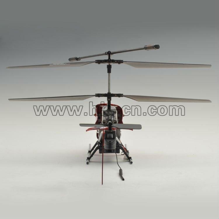 Wi-fi helicóptero controlado con el tiempo real de video en vivo de transmisión
