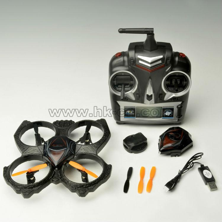 Epp 2.4g 4ch 6- eje ovni rc helicóptero teledirigido/de aviones no tripulados uav/loro de aviones no tripulados