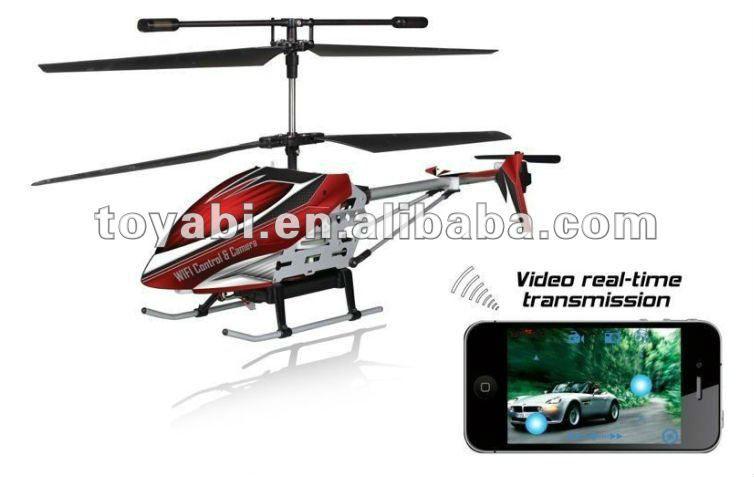 en tiempo real de transmisión de helicóptero