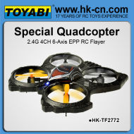 Epp 2.4g 4ch 6- eje ovni rc rc aviones no tripulados ar drone 2.0 girocompás aviones no tripulados