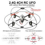 2.4g rc ufo somersault ein schlüssel
