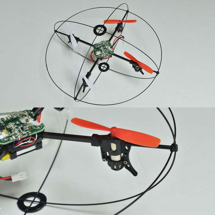 Uno 2.4g clave somersault ovni rc
