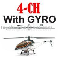 4-ch versionajustement metal rc helicopter avec gyro