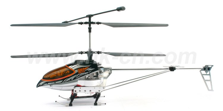 4-ch versionajustement metal rc helicopter avec gyro