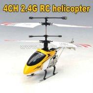 2012 hot 2.4g mini 4-kanal rc hubschrauber mit led-licht