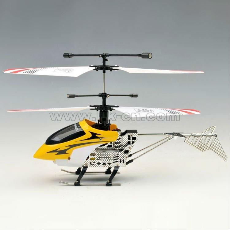 2012 caliente mini 4ch 2.4g helicóptero del rc con la luz led
