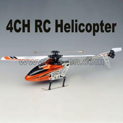 V911 4ch sola hoja helicopter2.4g rc helicóptero de un solo