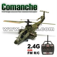 Vier kanäle hubschrauber 4ch einzigen luftschraube( comanche)