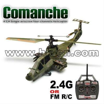 Unique 4ch airscrew quatre canaux hélicoptère( comanche)