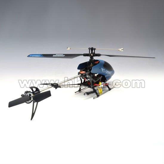 4ch solo- la hoja de metal helicóptero con la cámara