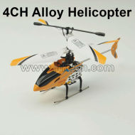 4ch合金のrcのヘリコプター