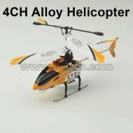 4ch en alliage hélicoptère rc