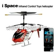 Juguete del helicóptero i- espacio de control de infrarrojos helicóptero juguetes helicóptero 4 con estilos