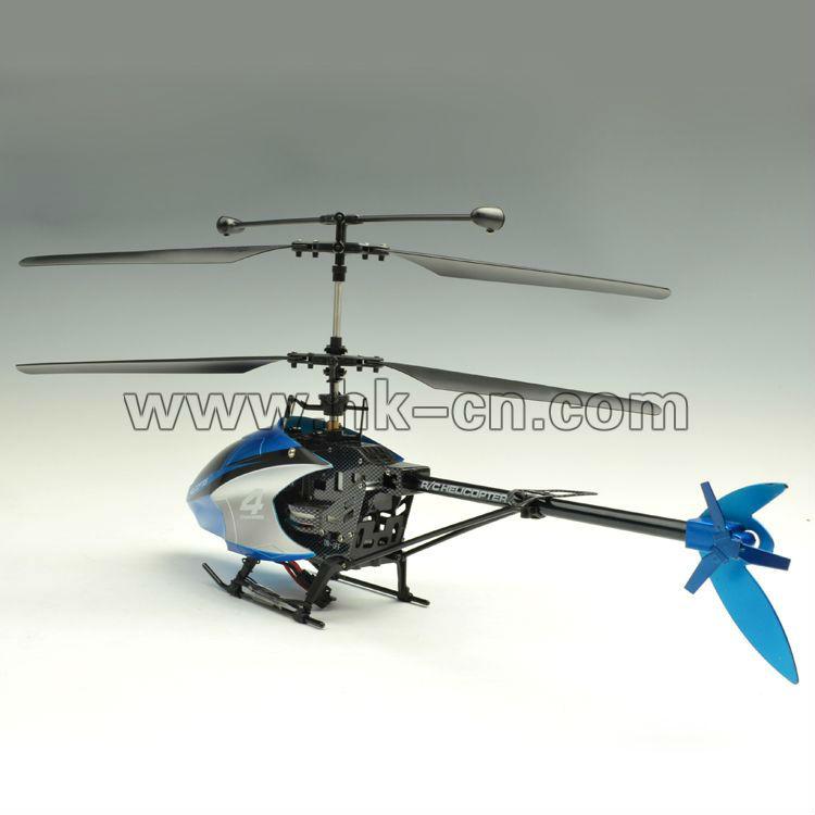 4ch helicóptero con el girocompás