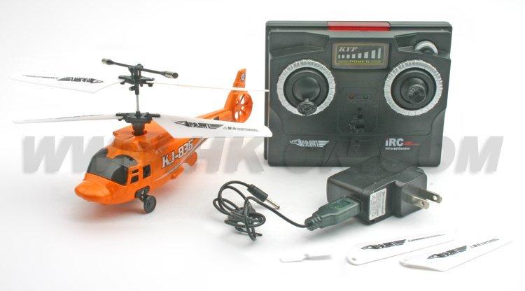 middel 4ch tamaño de plástico rc helicóptero de juguete de la afición