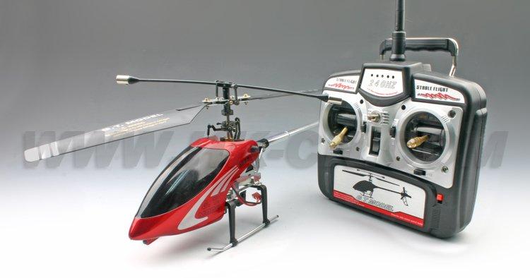 Helicóptero del rc, 4ch sola hélice de helicóptero del metal