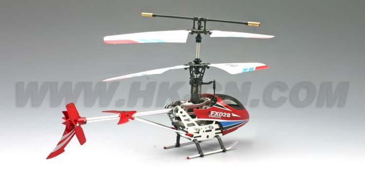 Helicóptero del rc, rc helicóptero 4-ch w/girocompás& servo