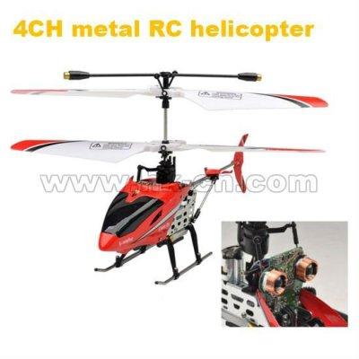 4ch de metal helicóptero del rc