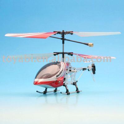 Jouets rc mini 3- channel rc hélicoptère avec gyro