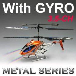 Control de infrarrojos rc helicóptero, de aleación de serie.