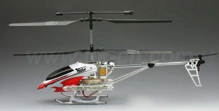 Hélicoptère de rc, rc. 3.5- canal série metal hélicoptère avec gyro et la lumière led