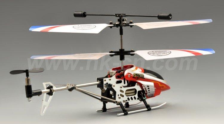 Mini helicóptero del rc 3.5-ch serie de metal con el girocompás