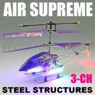 Hélicoptère, télécommande hélicoptère avec le compas gyroscopique et leds lumière