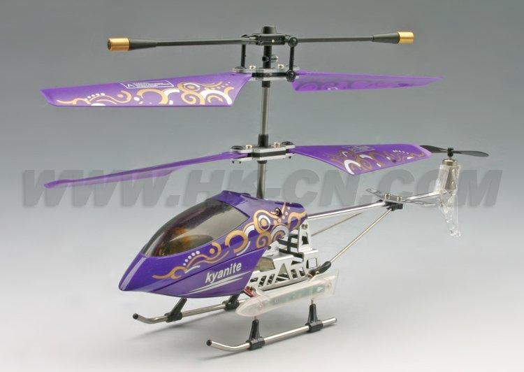 Helicóptero, de control remoto helicóptero con el girocompás y leds de luz