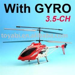 Jouet d'hélicoptère, 3.5 canal. metal rc helicopter avec le compas gyroscopique