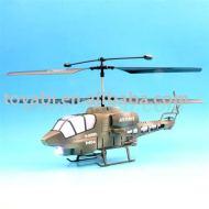 3 linterna del canal rc helicóptero