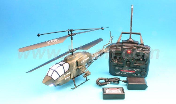 lampe de poche 3 channel rc hélicoptère