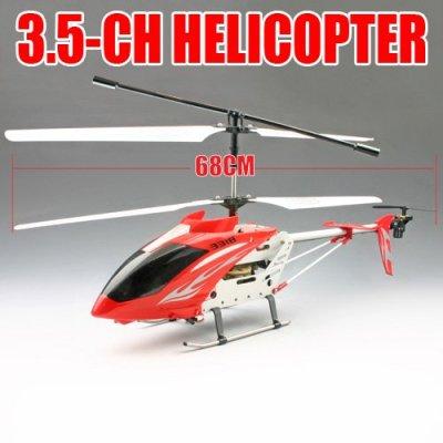 3.5 channel rc helicopter hélicoptère jouets en métal grande
