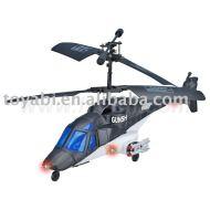 la vie réelle de contrôle à distance style hélicoptère avec le compas gyroscopique