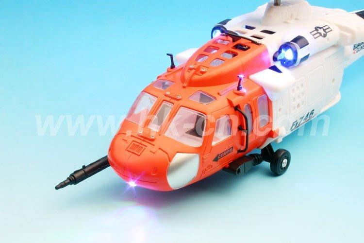 3.5-ch rc helicóptero con el girocompás