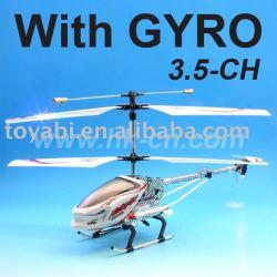 rc helicóptero con el girocompás