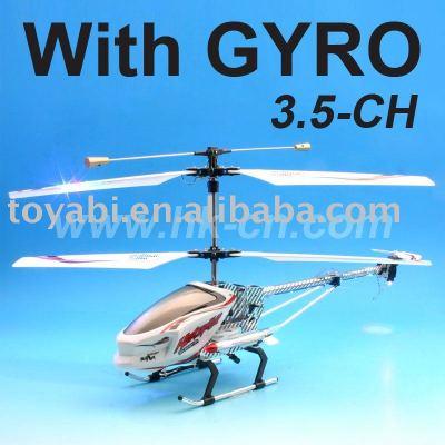 hélicoptère de rc avec le compas gyroscopique