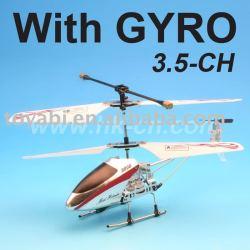 Hélicoptère, 3.5-ch mini metal hélicoptère avec gyro( bricolage.)
