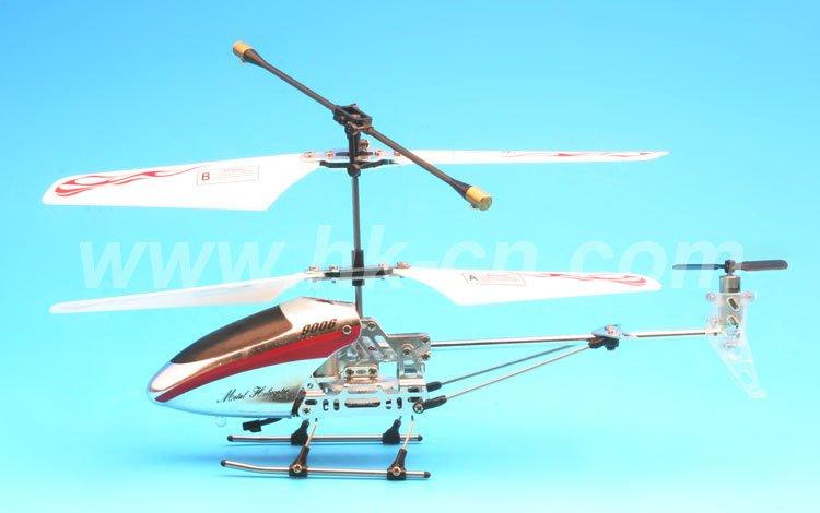 Helicóptero, 3.5-ch mini helicóptero del metal con el girocompás( bricolaje)