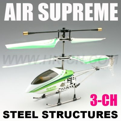 Rc spielzeug für kinder, 3.5- kanal helikopter mit kreisel metall serie