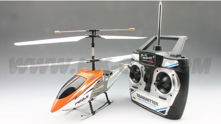 Gran helicóptero eléctrico del rc, 3.5ch material de metal
