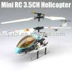 Helicóptero del rc, mini rc 3.5- canal de la serie de metal helicóptero