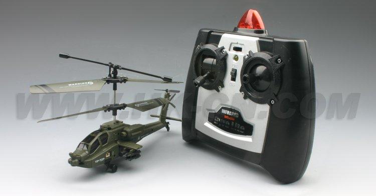 de la vida real del rc helicóptero con el girocompás