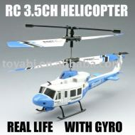 de infrarrojos de la vida real del helicóptero del rc