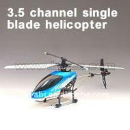 3.5 seul canal hélicoptère lame